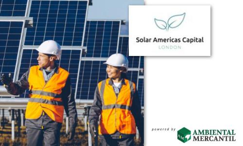 Solar Americas chega ao Brasil com a meta de construir portfolio de 2GW de usinas solares até 2026