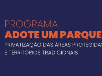 Relatório da Terra de Direitos e FASE mostra que programa Adote um Parque viola direitos e ameaça autonomia de comunidades tradicionais da Amazônia