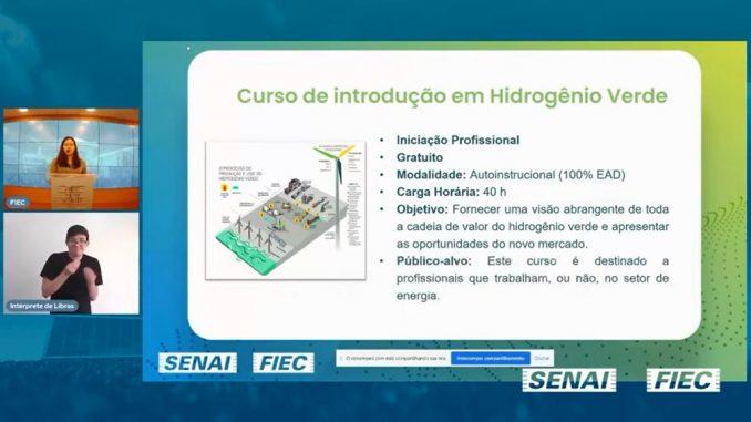Curso de Hidrogênio Verde registra mais de 2.100 matrículas